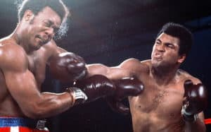 Convention After Ace Asking: Even Ali do a ROPE a DOPE in Rumble in The Jungle,  1974